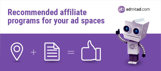 Recommended affiliate programs